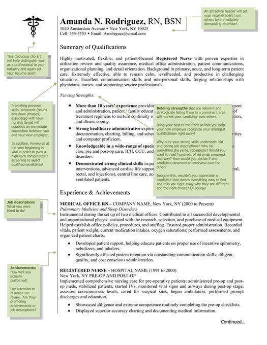 Nursing Resume Template Nursing Pinterest - nursing resumes templates