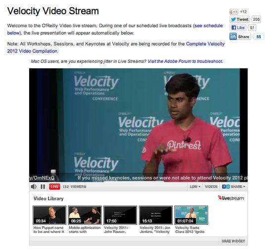 @Yashh Nelapati speaking at Velocity