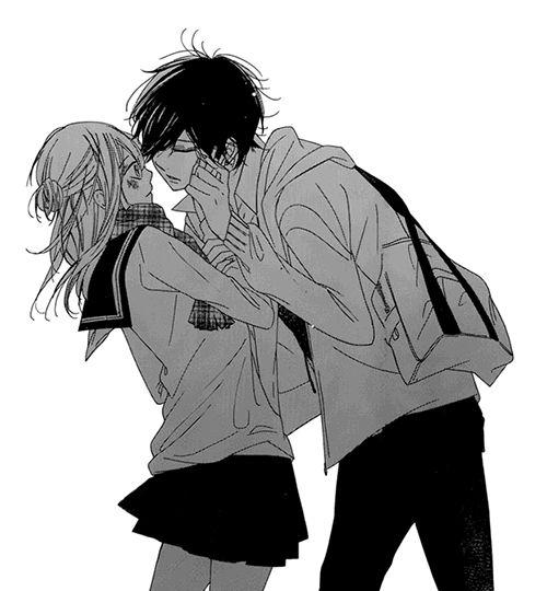 яσzℓεεи | via Tumblr | Anime-Manga Couple | Boy & Girl ...