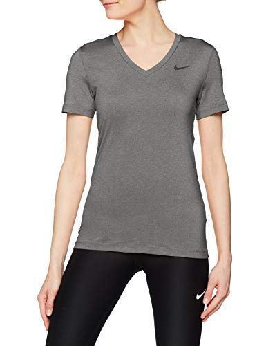picked up classic special for shoe Nike Damen Victory Kurzarm Dri-fit T-Shirt Grau (Carbon ...