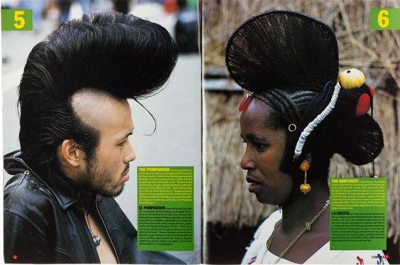 The Pompadour V The Hair crest