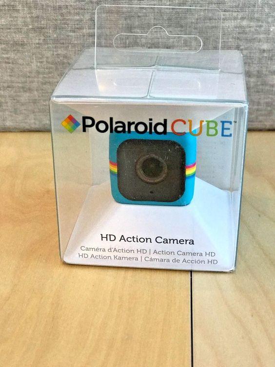 Polaroid Cube HD 1080p Lifestyle Action Video Camera/Blue New (w/ LOT of accs) https://t.co/C0khMbHKaS https://t.co/MPVXuh3PgW