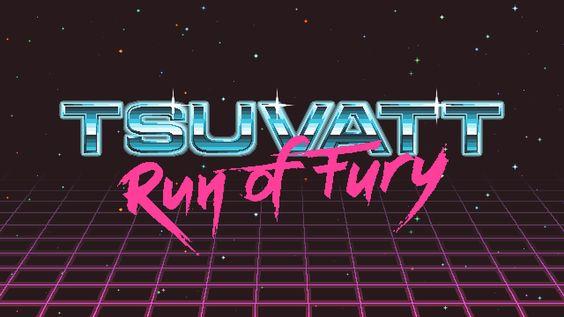 Tsuvatt Run of Fury Game Design | Abduzeedo