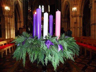 Traditional Catholic Advent Wreath: