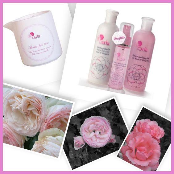 Se agotan en ByCarla! Últimas unidades de Vela para masaje Roses For Two y Pack Limpieza con Tónico en spray de regalo... Www.bycarla.es