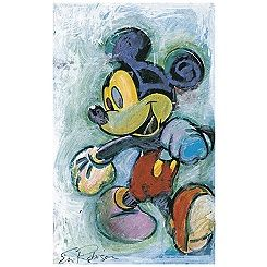 ''Skipping Out'' Mickey Mouse Giclée by Eric Robison