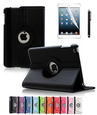 For Apple iPad 2 3 4 360 Degrees Rotating Stand PU Leather Case-(BLACK) https://t.co/hb6Fma83gg https://t.co/7zf65wvMK6