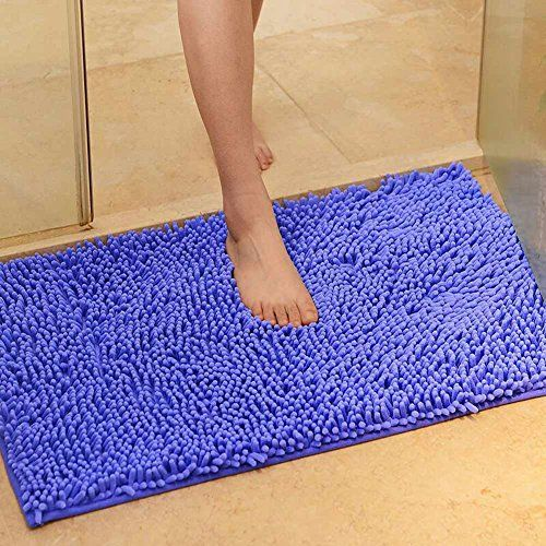 Nple Microfibre Non Slip Soft Shaggy Absorbent Bath Bathroom Shower Rug Carpet Mat Room Carpet Living Room Carpet Rugs On Carpet