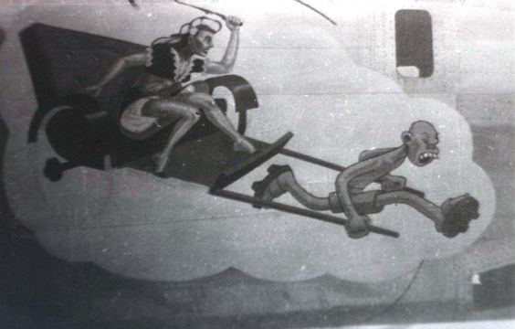 world war two bomber art | WW II Aircraft Nose Art 031.jpg