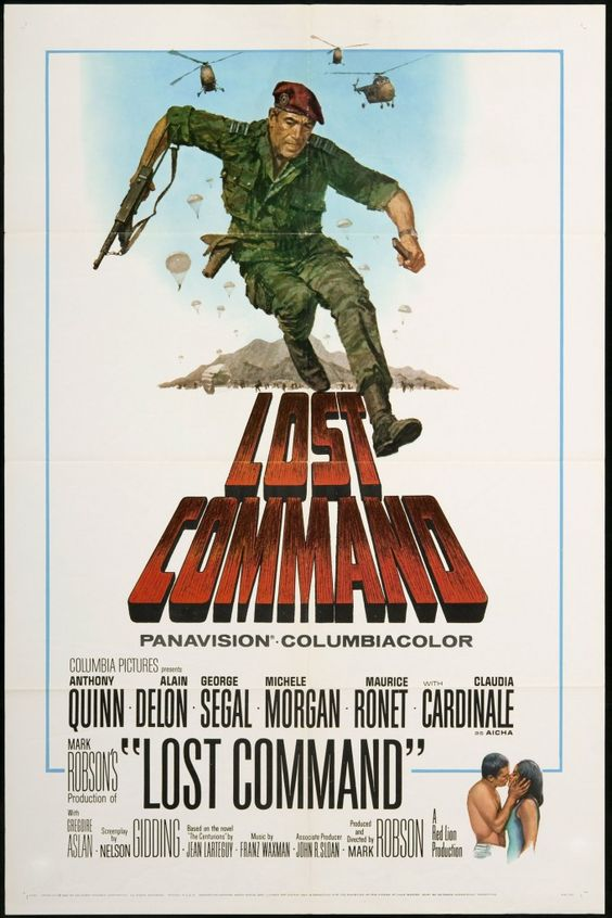 Lost Command - U.S. One Sheet - Vintage Movie Poster - FFF Movie Posters