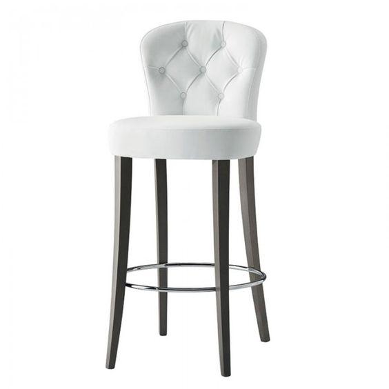 Euforia bar stool - Button back - Bar Stool from Hill Cross Furniture UK