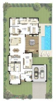 House Plans One Story No Garage Layout 65 Trendy Ideas House Plans House Floor Plans House Plans One Story