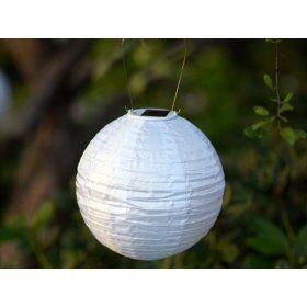 Solar-powered lanterns. Very good idea