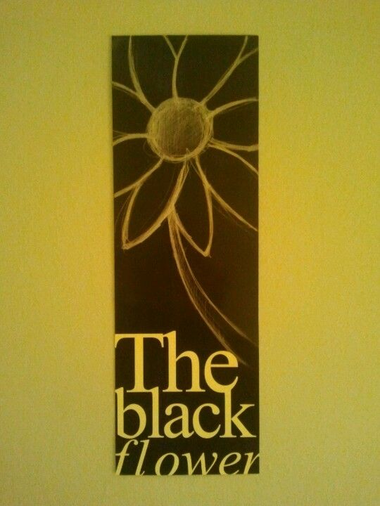 The black flower by mon