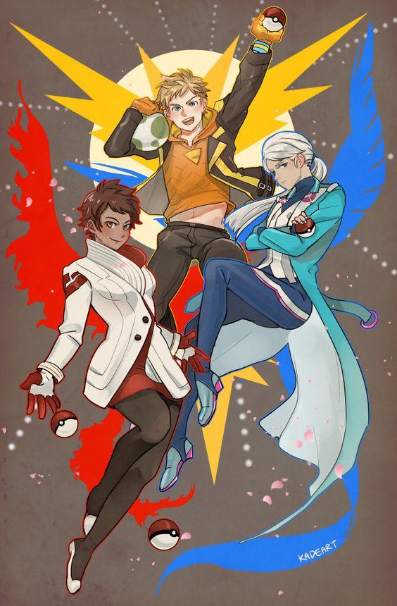 Candela, Blanche, and Spark by kadeart #nintendo #pokemon #fanart