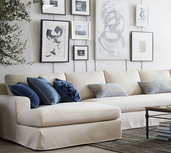 Pin By Michele Greenhouse On Loft Ideas In 2021 Sectional Sofa Tidy Room Pottery Barn Sofa
