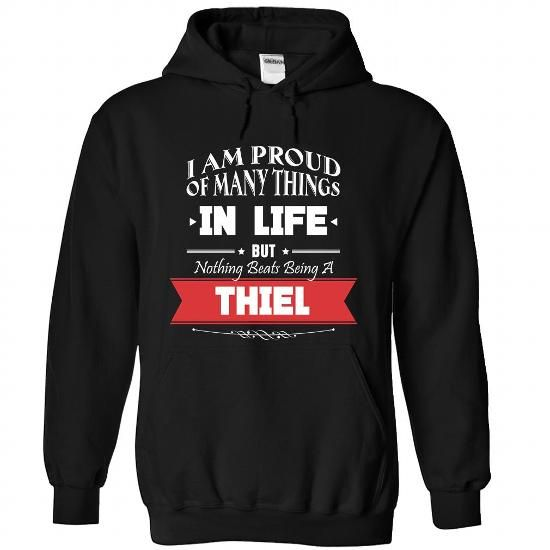 THIEL-the-awesome - #sorority shirt #sweater tejidos. PRICE CUT => https://www.sunfrog.com/LifeStyle/THIEL-the-awesome-Black-76504159-Hoodie.html?68278