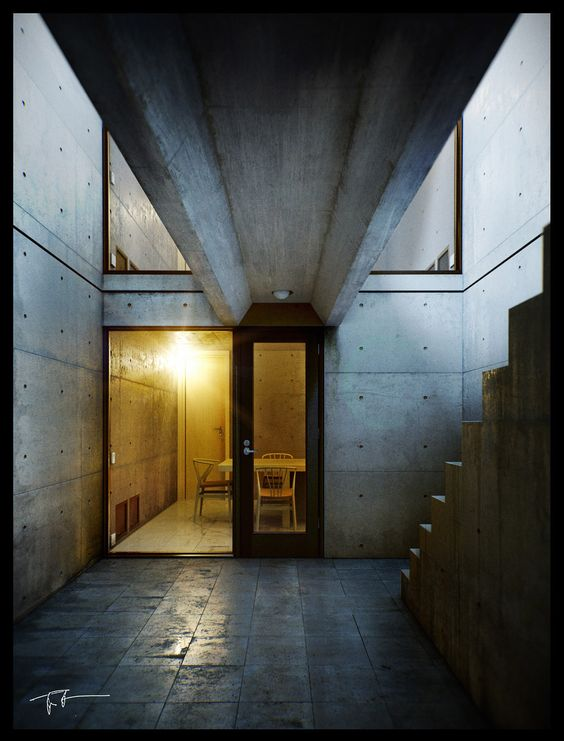 Azuma House, Tadao Ando. Classic