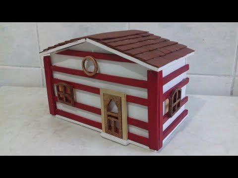 كيف تصنع بيت لطيور البادجي اركت How To Make A Bird House Bir Kus Yuvasi Nasil Olusturulur Youtube Decorative Boxes Decor Home Decor