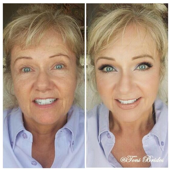 Wonderful Before And After Shot Showing The Magic Of Makeup D By Http Bride Makeupwedding
