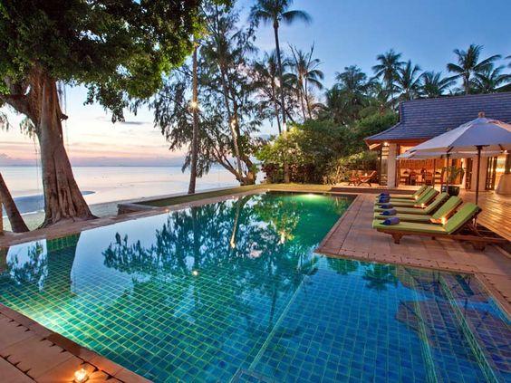 Koh Samui, Thailand  A small island off the coast of Thailand.