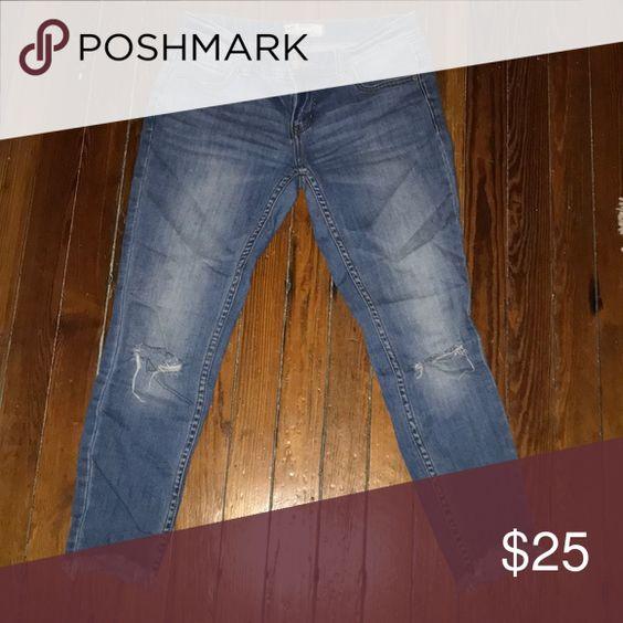Free People skinny crops   Skinny, Free people jeans