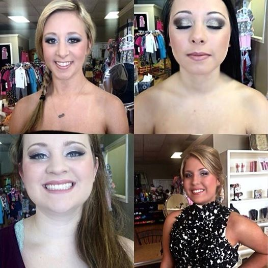 Prom MU by Shae at Merle Norman Orange Tx You've tried the rest, now try the BEST! #merlenormancosmetics#MUA#prom#beauty