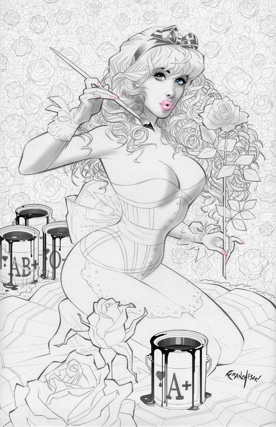 Alice in Wonderland by Franchesco