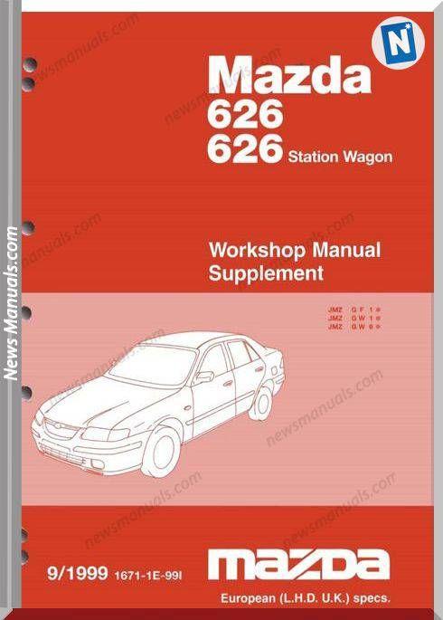 Mazda 22 Mazda 626 1998 2002 Workshop Manual Mazda Electrical Diagram Manual