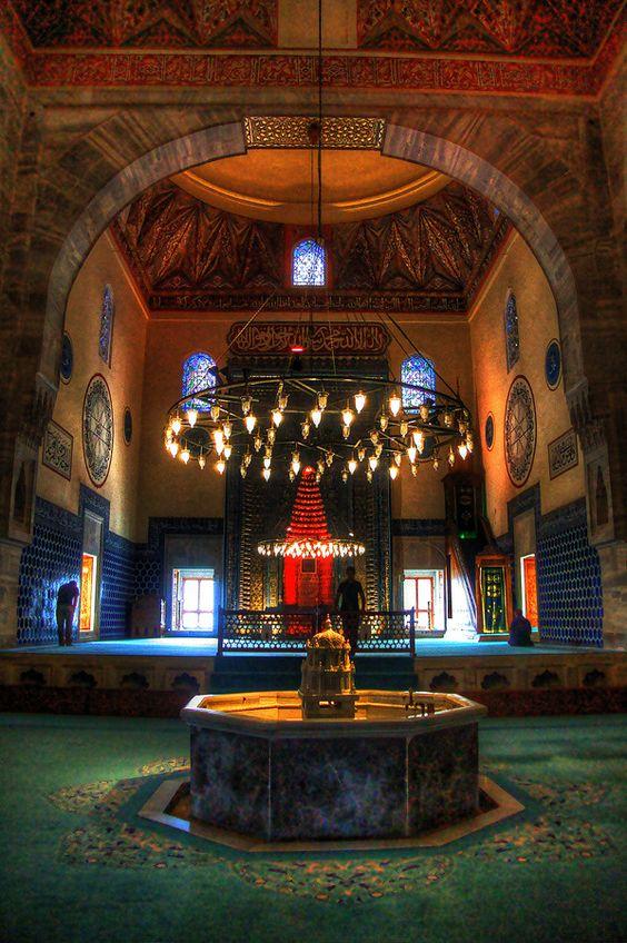 Ulu Cami, Gran Mezquita de Bursa, Turquía