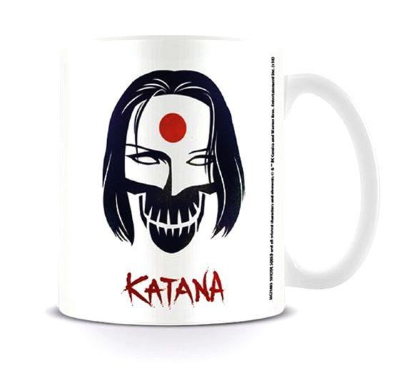 Suicide Squad Mug Katana Skull DC Comics White boxed - Paradiso Clothing