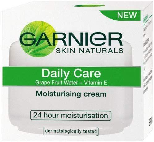 Garnier S Daily Care Moisturising Cream Provides 24 Hour Moisturisation For Fresh It Also Helps In Soft A Moisturizer Cream Skin Care Moisturizer Natural Skin