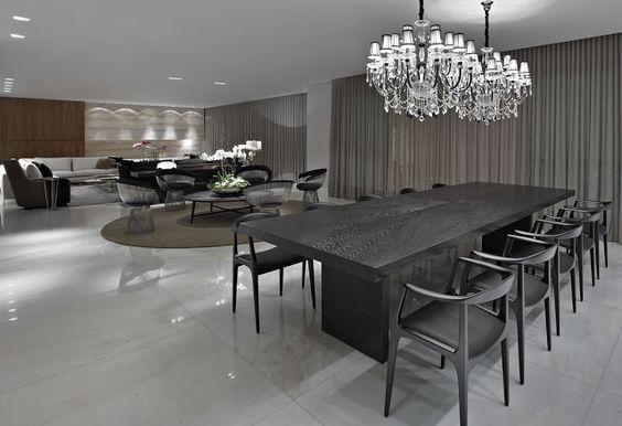 Madeira ebanizada na decoração – saiba o que é e veja ambientes lindos decorados!
