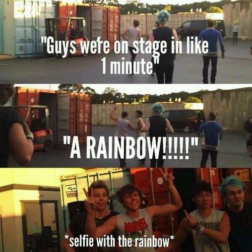 Ofc they would do that is that not adorable?! Lol