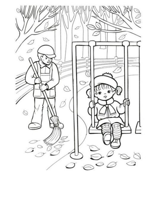 jahreszeiten ausmalbild kostenlos  zeichnen und färben