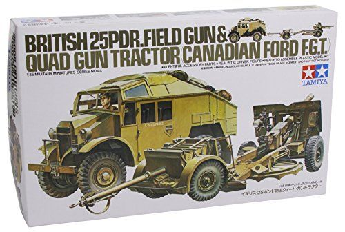 #PopularKidsToys Just Added In New Toys In Store!Read The Full Description & Reviews Here - TAMIYA Military Kit 1:35 35044 British 25 pounder & Quad Tractor - Tamiya 1/35 British 25 Pndr Gun/Quad Kit # 35044    Frequently Bought Together       +      +      +        Price for all: £56.37        This item: TAMIYA Military Kit 1:35 35044 British 25 pounder & Quad Tractor £17.05    British Universal Carrier Mk.II Forced Reconnaissance - 1:35 Scale Military - Tami