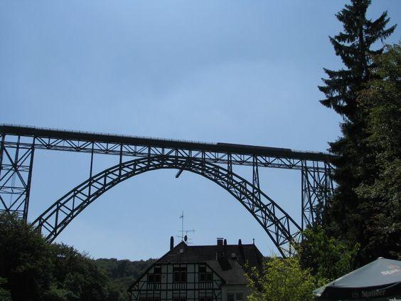 Münsgener Brücke 107m