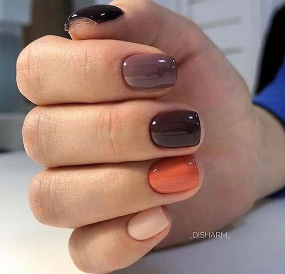 2020 Popular 30 trendy manicure short nails design ideas for New Year – Page 27 #nails