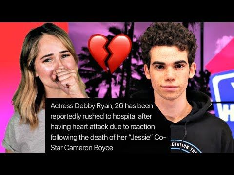 Debby Ryan Rushed To Hospital After Finding Out About Cameron Boyce Youtube Cameron Boyce Debby Ryan Cameron Boyce Descendants