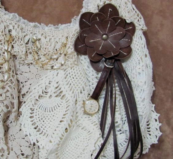 Vintage Purse Make Over Bohemian Victorian by ThisOrThatVintage