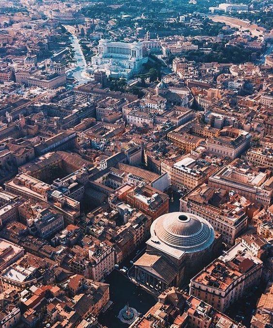 El Panteón. Roma. Italia.