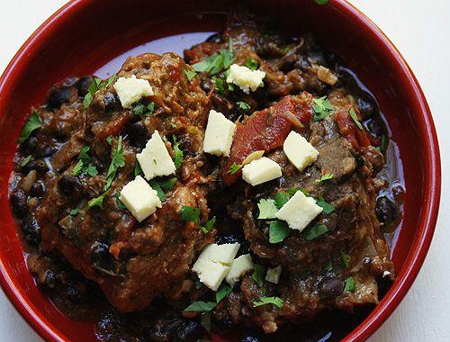 FOOD: Spicy pork and black bean stew | Food | Pinterest | Black Bean ...