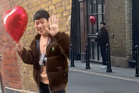 Fans Can't Believe Ryu Jun Yeol Ended Up In An Instagrammer's Video For Valentine's Day While Traveling In England