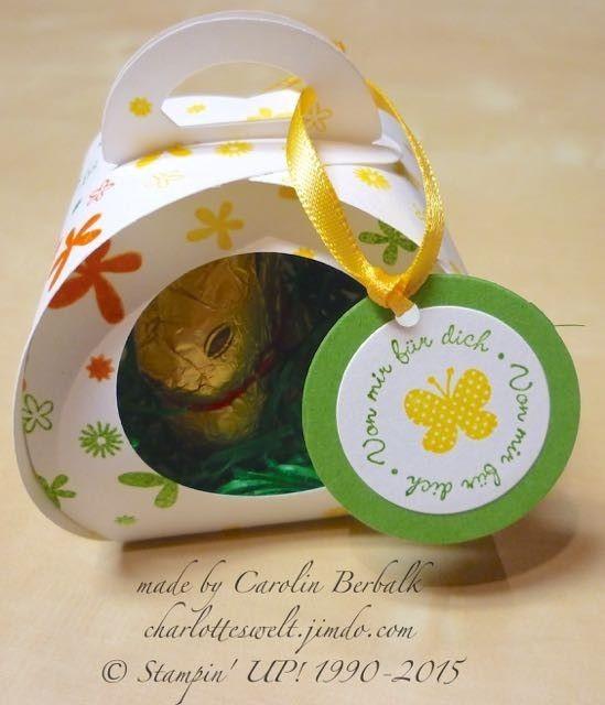 Kleine Osterüberraschung - Perpetual Birthday Calendar - Zierschachtel für Andenken - Stampin' UP!
