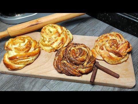 عجينة من غير ولا غلطة وتنفع لكل المعجنات وبطريقة سهلة جدا Youtube Desserts Food Breakfast