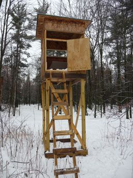 Deer Hunting Box Stand Build My Stand Tree Stand Plans