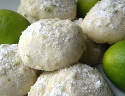 Key Lime Cooler Cookies, from Mystery Lovers' Kitchen.