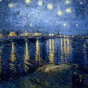 Vincent van Gogh: The Color of Night #art
