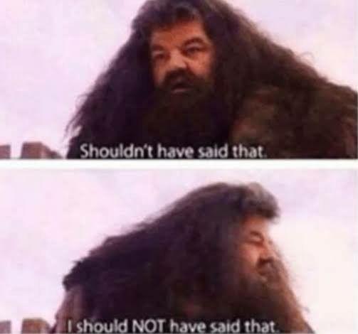 Meme Template Hagrid Rubeus Hagrid Harry Potter