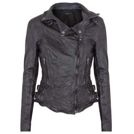 I need a new leather jacket... I like this one by MUUBAA